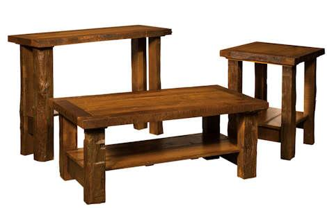 Timber Frame Occasional Tables