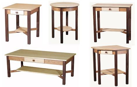 Tri-Wood Occasional Tables