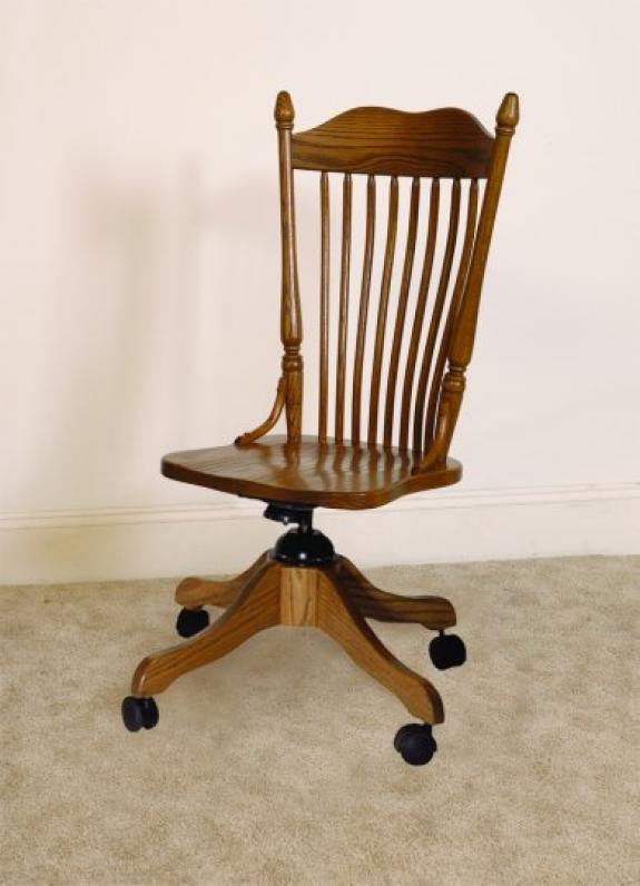 X-31 Spindle Back Desk Chair