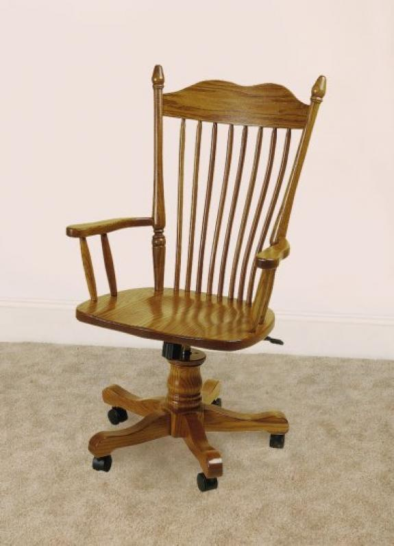 X-34 Spindle Back Arm Chair