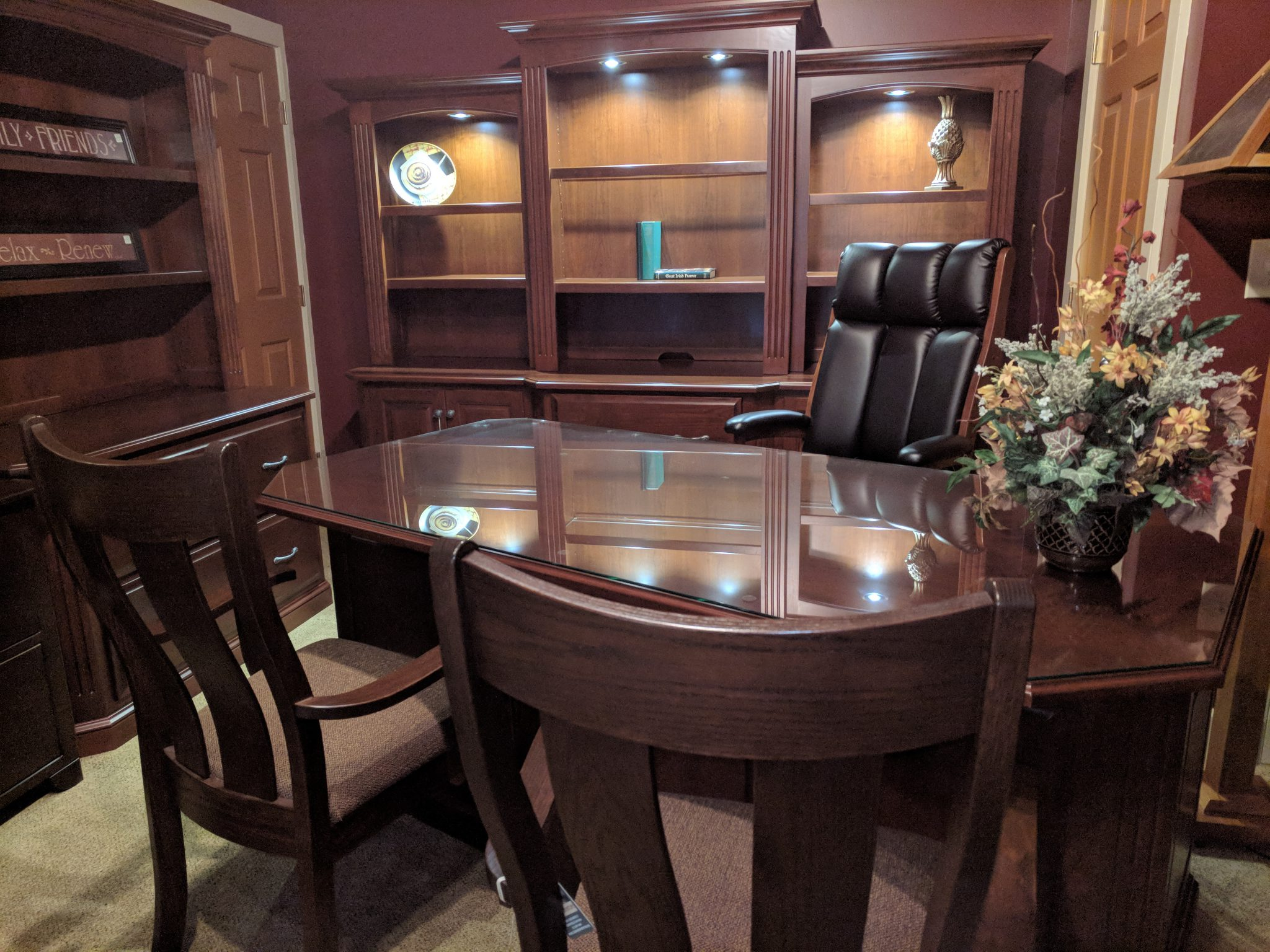 Make a Statement with an Heirloom Quality Executive Desk