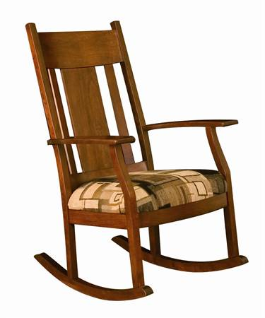 011 Bent Panel Rocking Chair