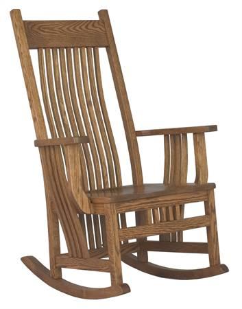 097 Jumbo Royal Mission Rocking Chair