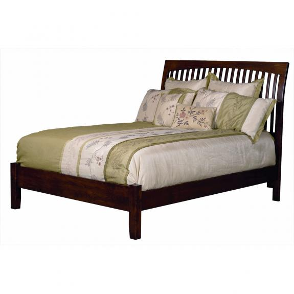 Kingston Craft Bedroom Collection Spindle Bed