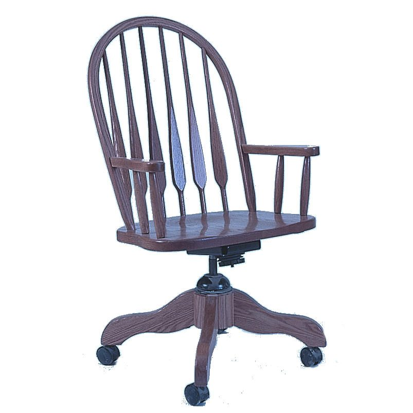 101 Feather Back Desk Chair