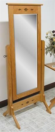 1010 Diamond Mission Cheval Mirror