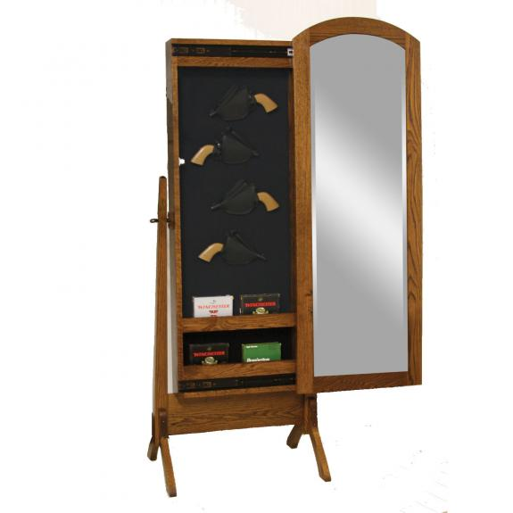 1012-200 Antique Shaker Gun Cabinet