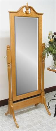 1016 Pediment Cheval Mirror