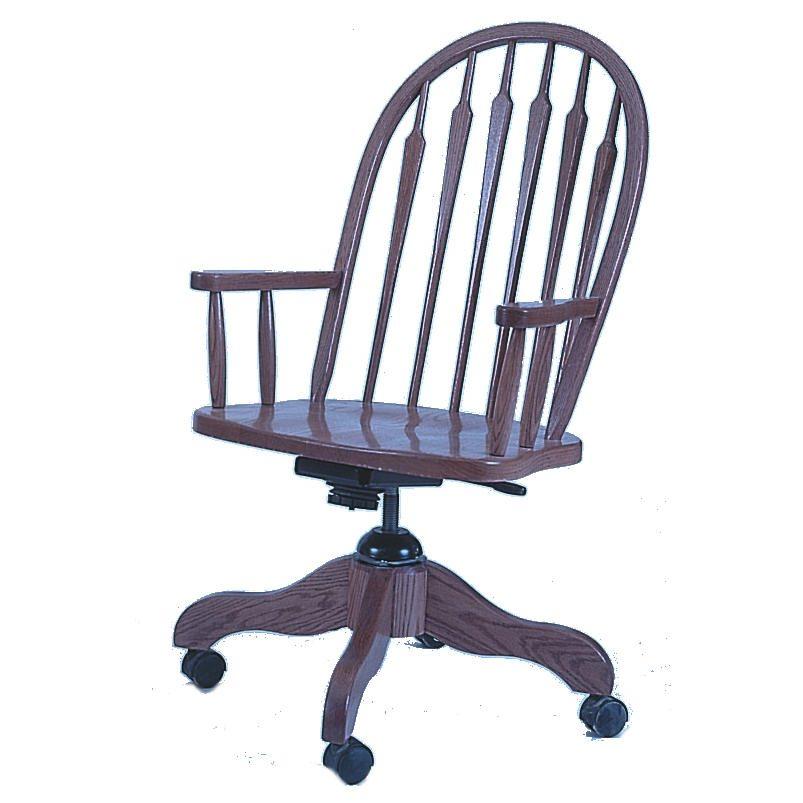 102 Arrow Back Desk Chair