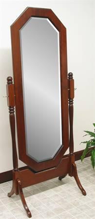 1020 Octagon Cheval Mirror