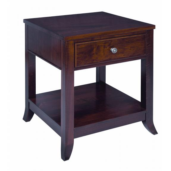 Kingston Craft Bedroom Collection 1 Drawer Nightstand