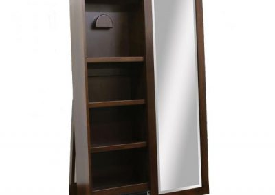 1035-400-Shaker-Hat-Storage-Leaner-Cabinet-Open-Undecorated
