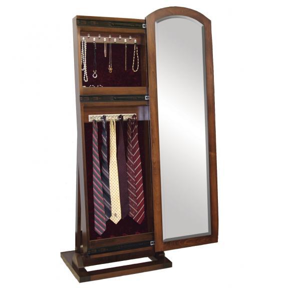 1037-125 Antique Shaker Jewelry/Tie Leaner