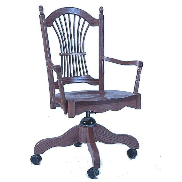 105 Sheaf Back Desk Chair
