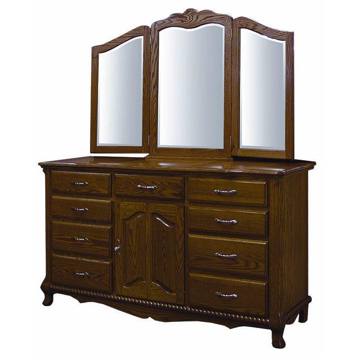"CWF 100 Classic Bedroom Set Classic 66"" Dresser"