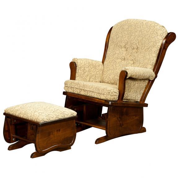 171 Swan Back Glider Chair