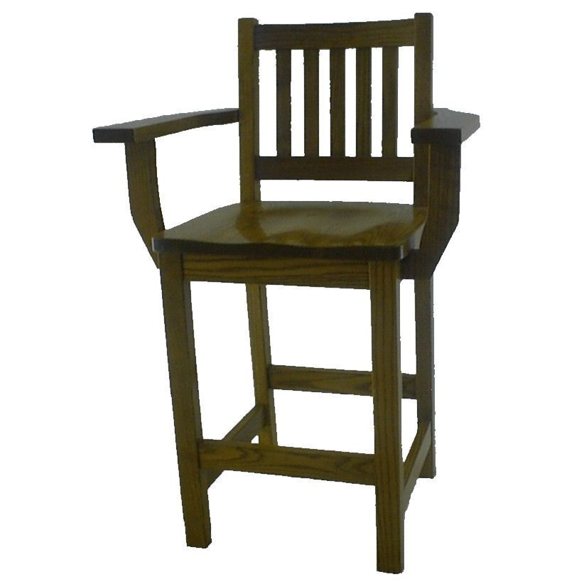 17SB Mission Schoolhouse Bar Stool