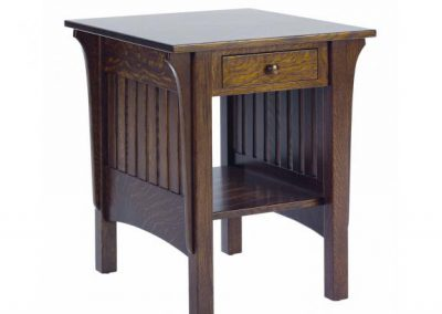 1800-Mission-End-Table-w-drawer