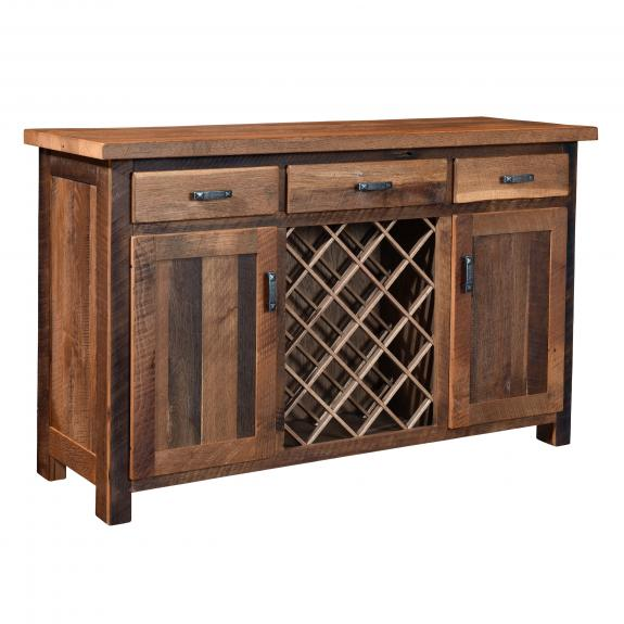 Almanzo Bar Table Collection 211-382160 Wine Server