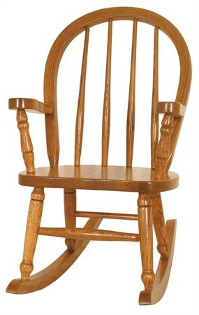 Child's Bow Back Rocking Chair
