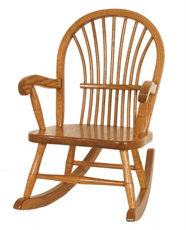 Sheaf Back Rocking Chair