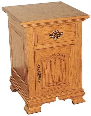 CWF 200 Traditional Bedroom 1 Door Nightstand