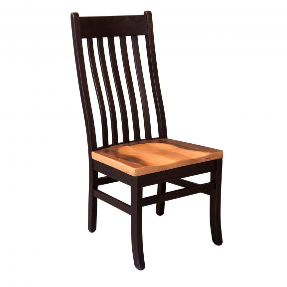 Almanzo Black Dining Set 233 Red Oak Mission Dining Chair