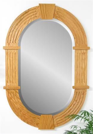 2333 Small Racetrack Keystone Mirror