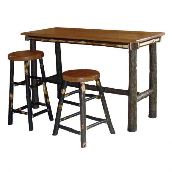 250 Rustic Square Pub Table