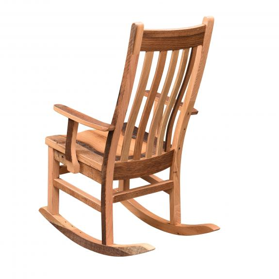 251 Barnwood Mission Arm Rocking Chair