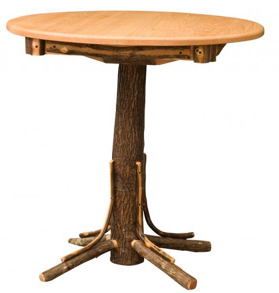 """252 36"""" Round Rustic Pub Table"""