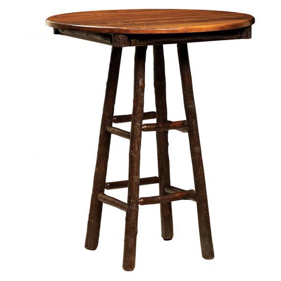 """264 36"""" Round Log Pub Table"""