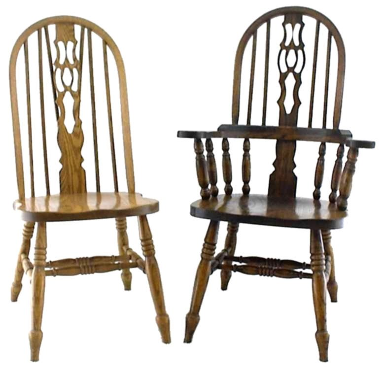 28C Slot Fiddle Dinette Chairs