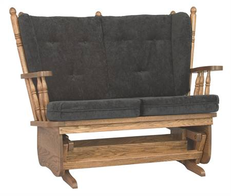 291 4 Post Low Back Love Seat