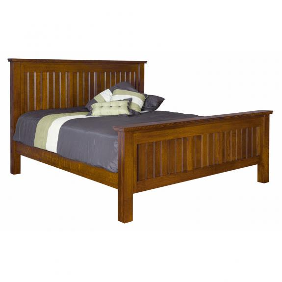 CWF Country Mission Bedroom Set Deluxe Bed