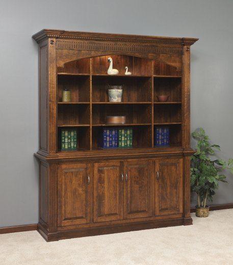 GO-3104 Crescent Moon Executive Bookcase