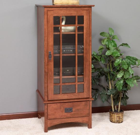 3154 Mission Stereo Cabinet