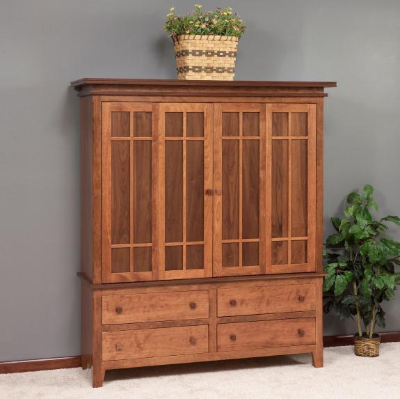 3174 Solid Wood TV Cabinet