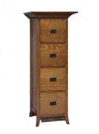 GO-3191 Mt. Eaton 4 Drawer Filing Cabinet