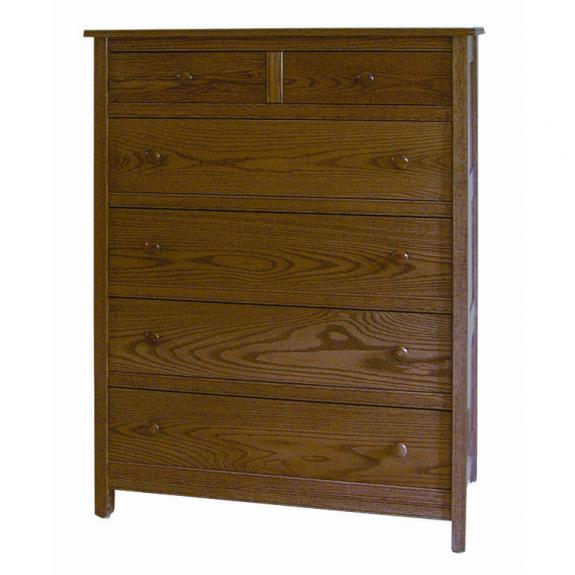 CWF Country Mission Bedroom Set 6 Drawer Chest