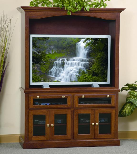 342 HDTV Wood TV Cabinet
