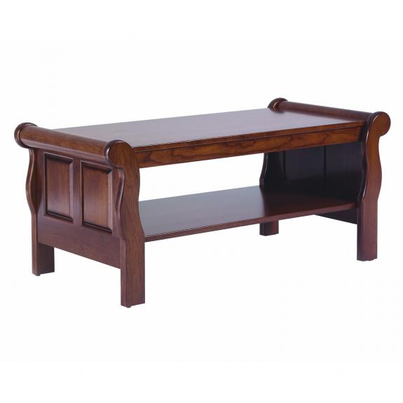 QF Sleigh Style Occasional Tables Coffee Table