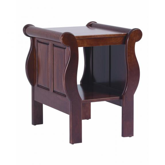 QF Sleigh Style Occasional Tables End Table