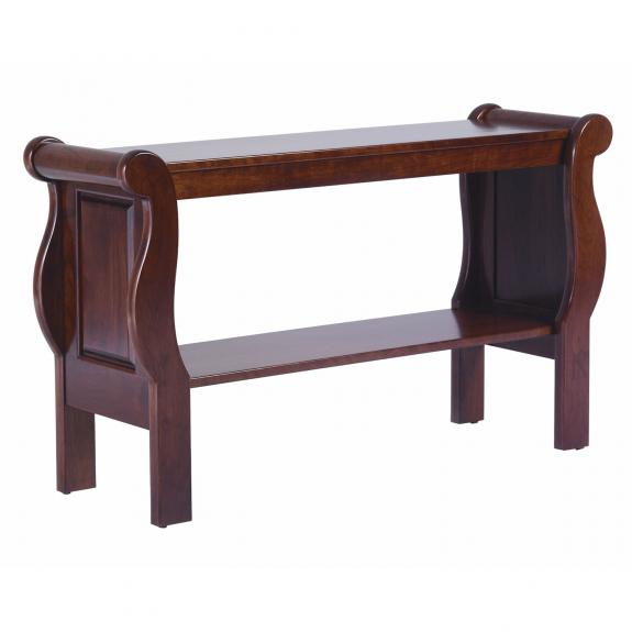 QF Sleigh Style Occasional Tables Sofa Table