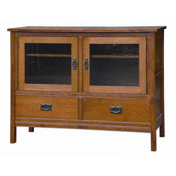 CWF Country Mission Bedroom Set TV Stand