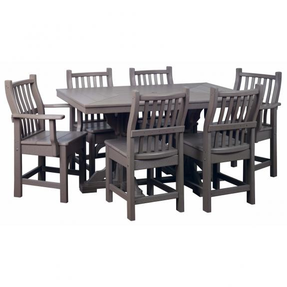 3860 Outdoor Dining Table and Chairs