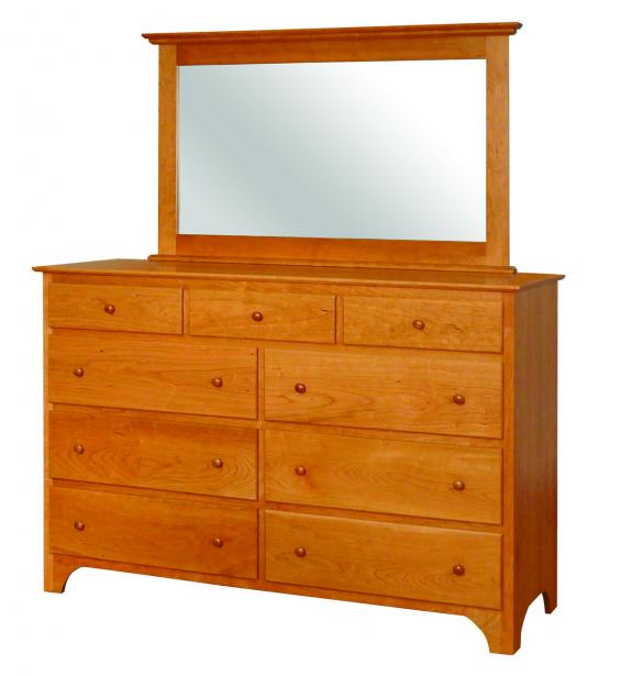 CWF400 Shaker Bedroom Set Shaker Tall Dresser