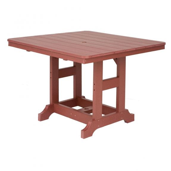 Garden Classic Table, Square, Poly