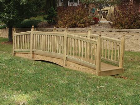 4X16 American Bridge, treated pine