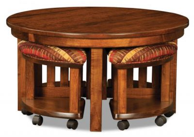 5-Piece-Round-Table